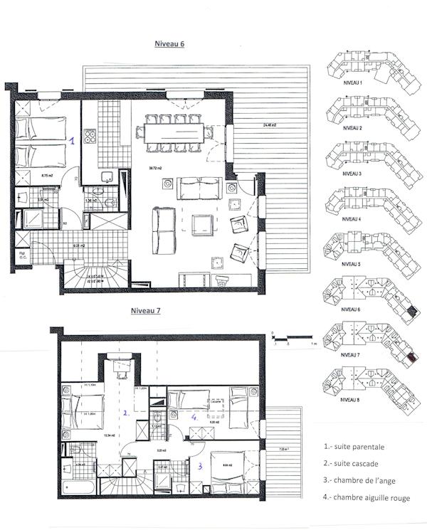 Plan duplex 6028 - Arc 1950
