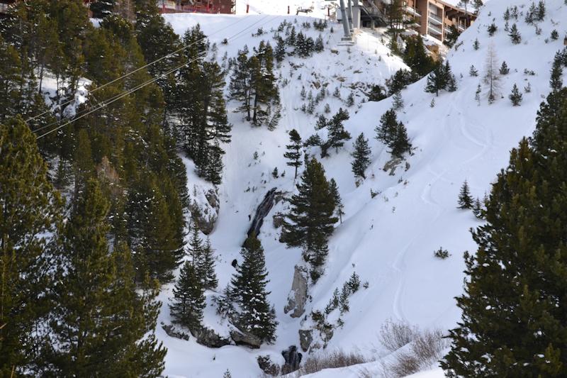 Vue terrasse de la suite cascade - Le 6028